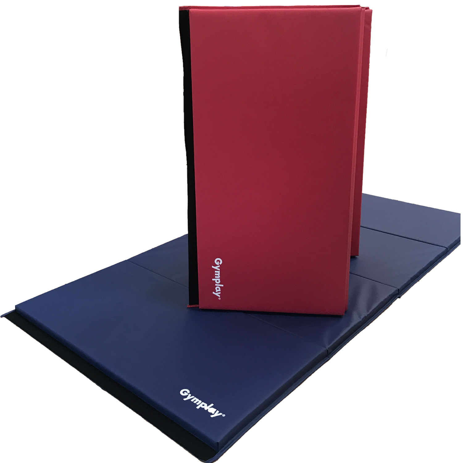 gymplay folding mat saphire and chili red
